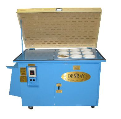 Tremendous In Stock Downdraft Tables Denray Machine Inc Home Interior And Landscaping Oversignezvosmurscom